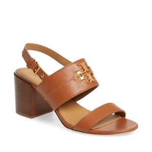 Tory Burch Everly T Logo  Sandal. New!